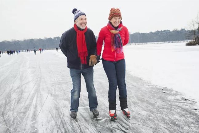 اسکی روی یخ