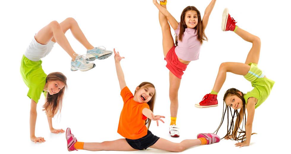 انجام حرکات ژیمناستیک در کودکان