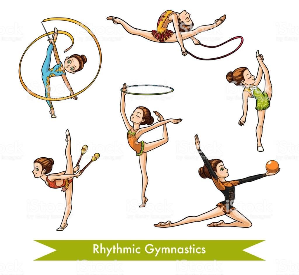حرکات ژیمناستیک ریتمیک برای دختربچه ها