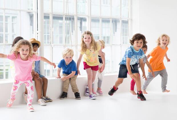 ورزش کودکان پیش دبستانی