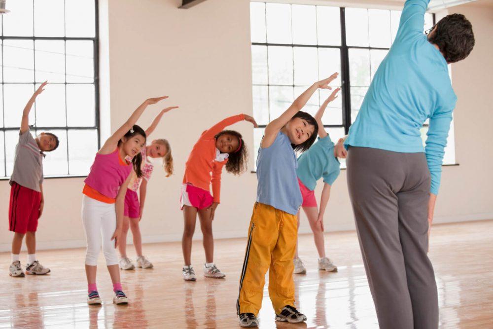 آموزش ورزش های گروهی در مهد کودک ها