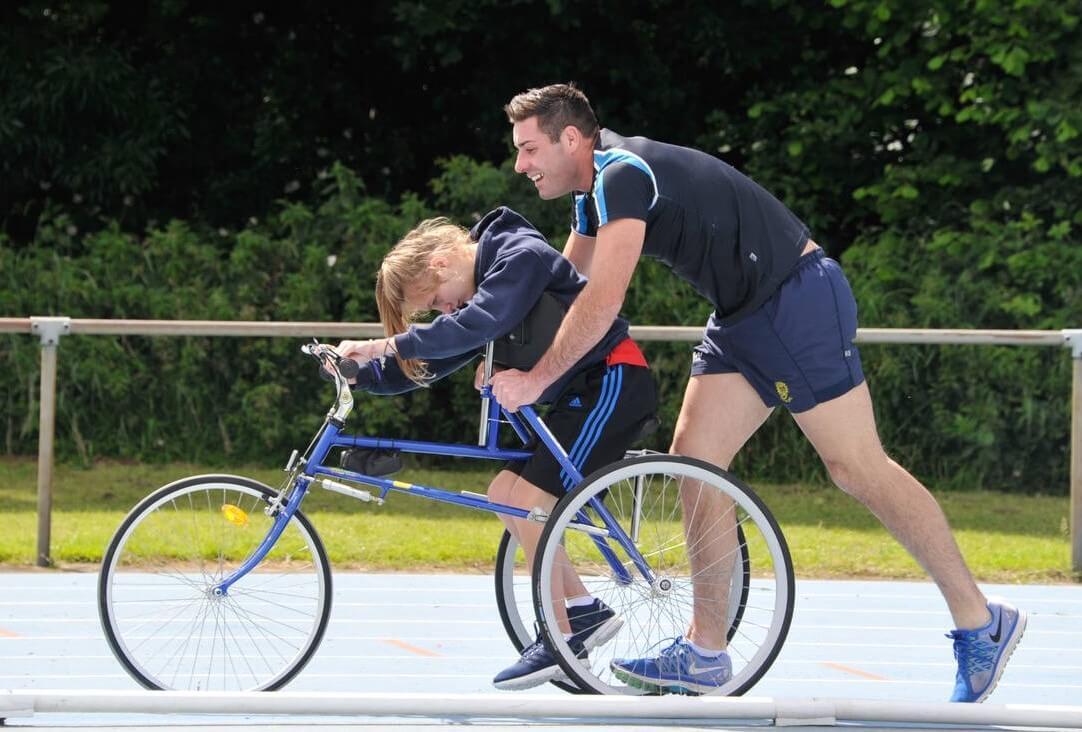 ورزش برای کودکان بیمار
