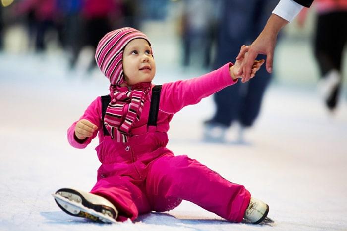 فواید اسکیت روی یخ برای کودکان