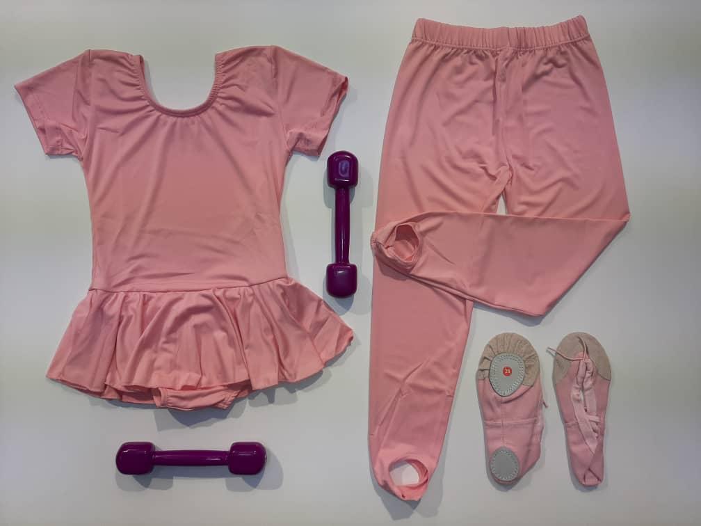 لباس ژیمناستیک دخترانه ۱۳۰