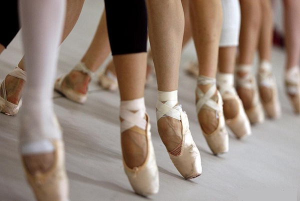 کفشهای باله پوینت pointe