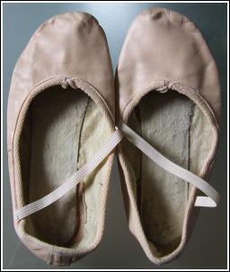 کفش ساتن باله