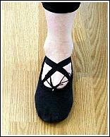 انتخاب کفش مناسب باله