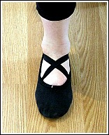 کفش مناسب برای باله