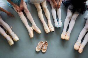 روش انتخاب کفش باله