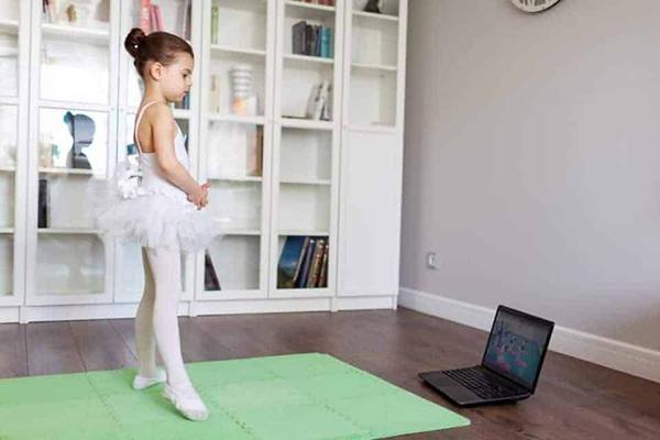 آموزش رقص باله در خانه