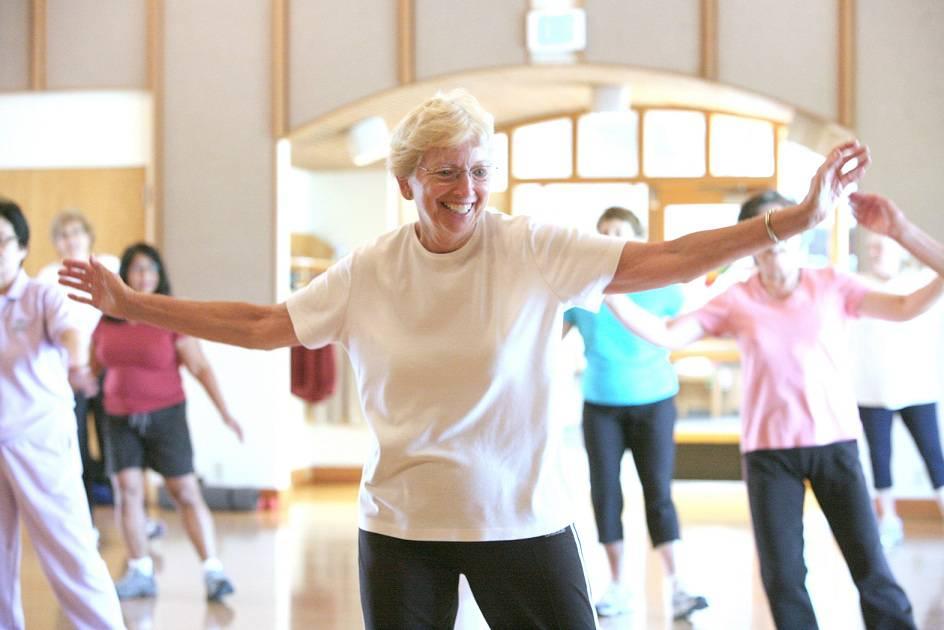 شرکت در کلاس رقص