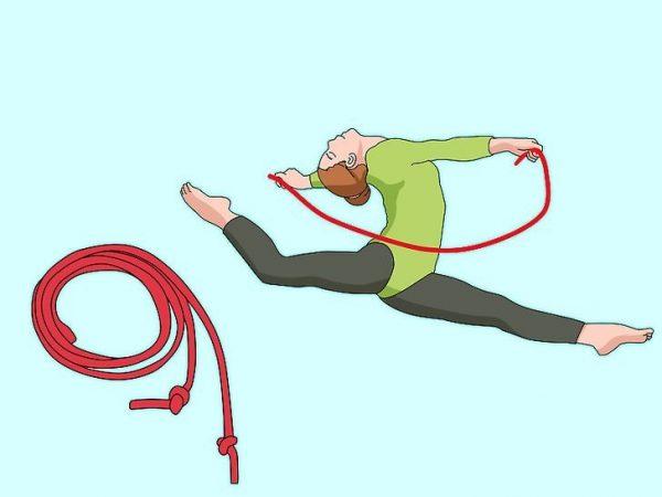 طناب در ژیمناستیک ریتمیک